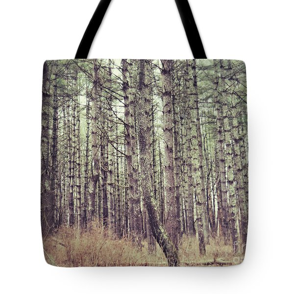Tote Bag featuring the photograph The Preaching Of The Pines by Kerri Farley