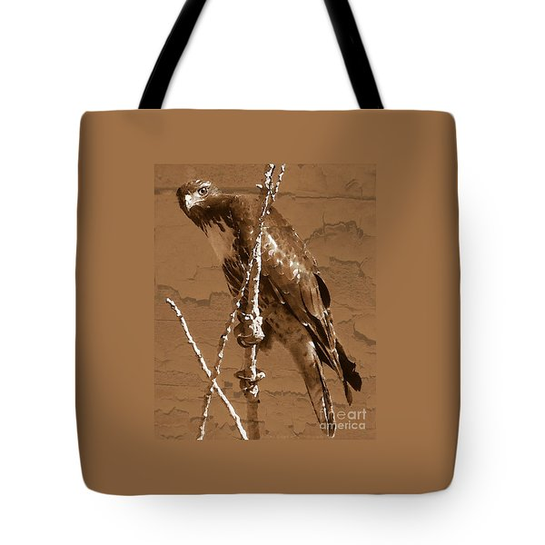 The Predator Digital Painting Tote Bag