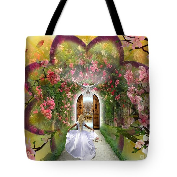 The Presence  Tote Bag