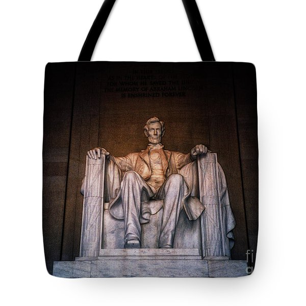 The President Tote Bag by Nishanth Gopinathan