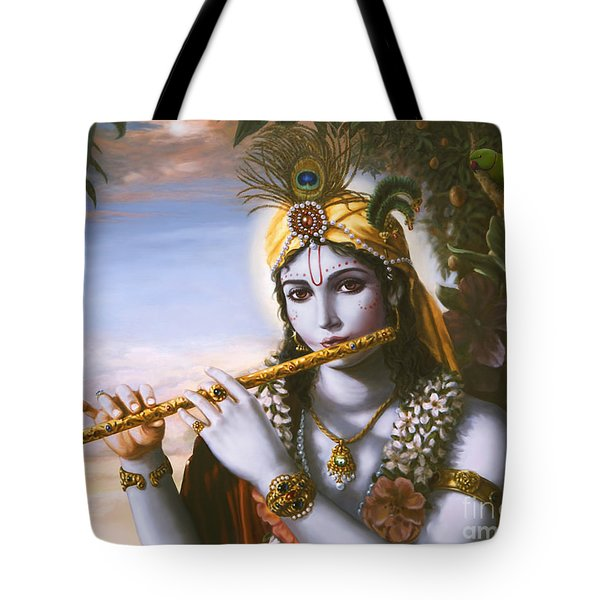 The Primordial Flute Player Tote Bag