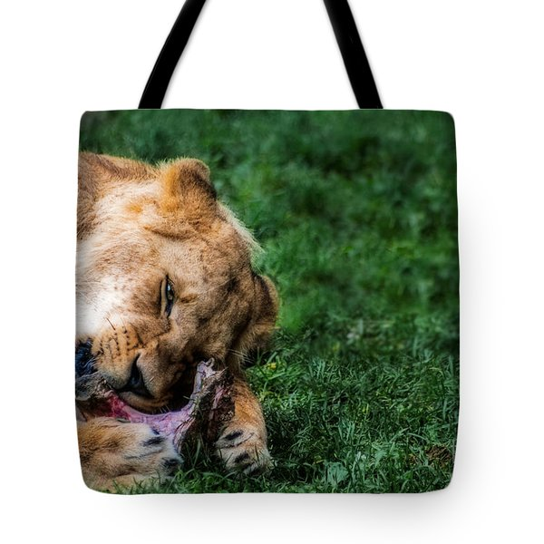 The Prince Is Hungry Tote Bag by Hannes Cmarits