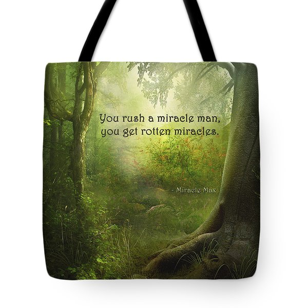 The Princess Bride - Rotten Miracles Tote Bag