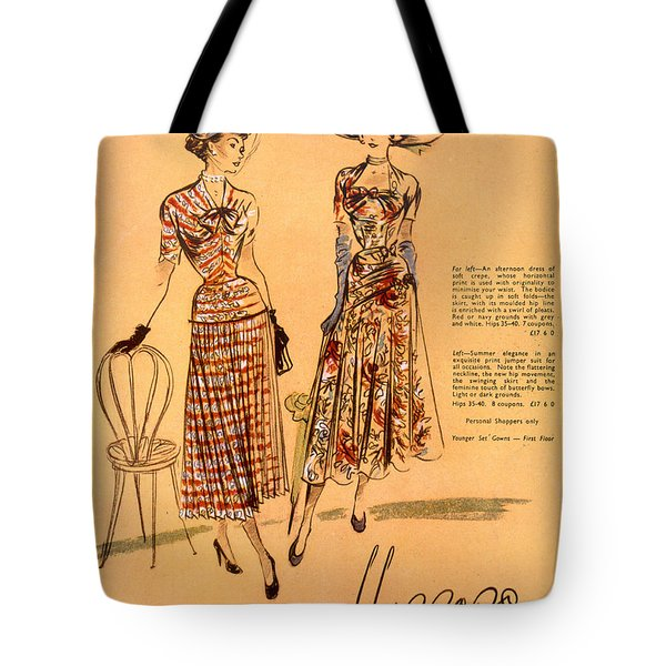 The Prints Of Summer, From Harrods Ltd Tote Bag