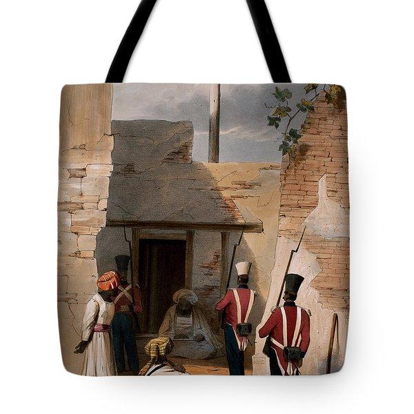 The Prison Of Hadjee Khan Kakus - Tote Bag