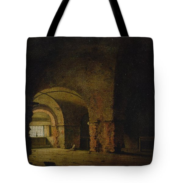 The Prisoner, C.1787-90 Oil On Canvas Tote Bag