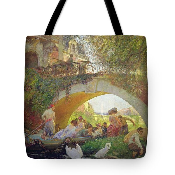 The Prodigal Son Oil On Canvas Tote Bag
