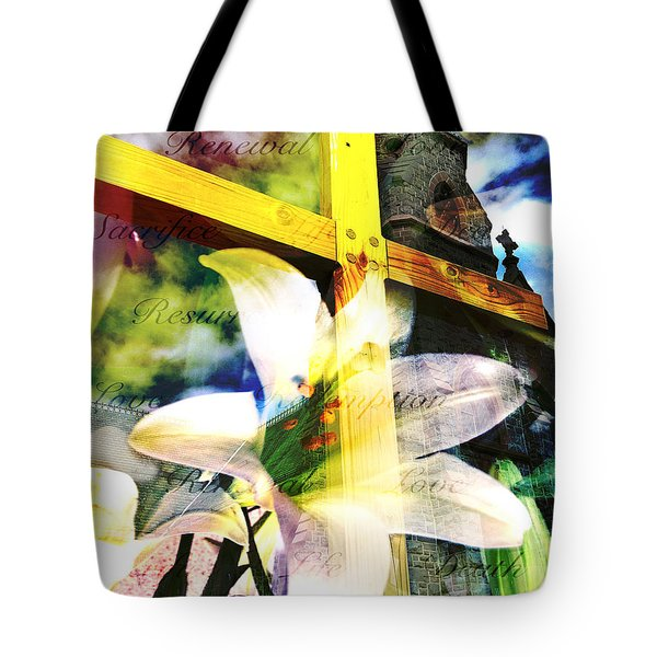 The Promise Tote Bag by Eleanor Abramson