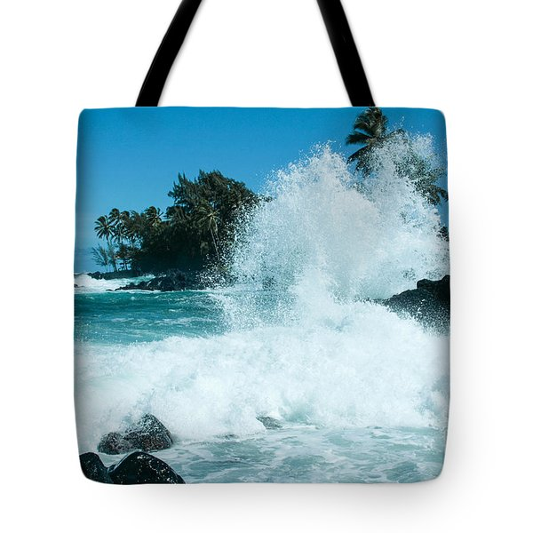 The Promise From The Lotosgardens Beyond The Sunset  Tote Bag by Sharon Mau