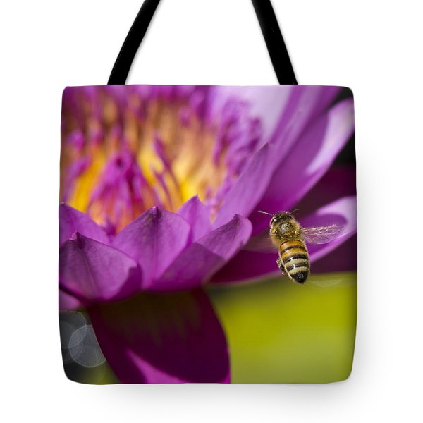 Tote Bag featuring the photograph The Promise Of Pollen by Priya Ghose