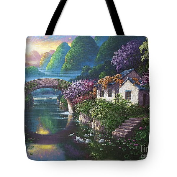 The Promise Of Spring Tote Bag