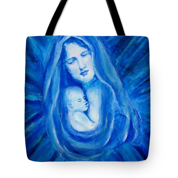 The Protecting Love Of A Mother And Her Child Tote Bag by The Art With A Heart By Charlotte Phillips