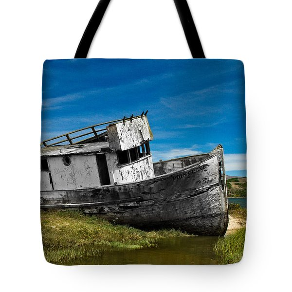 The Pt. Reyes Muted Tote Bag by Bill Gallagher