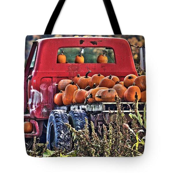 The Pumpkin Hauler Tote Bag