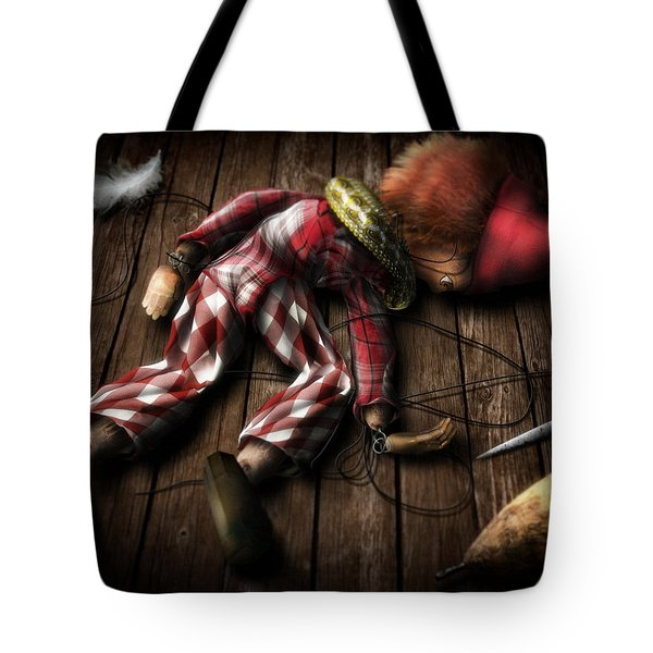 The Puppet... Tote Bag