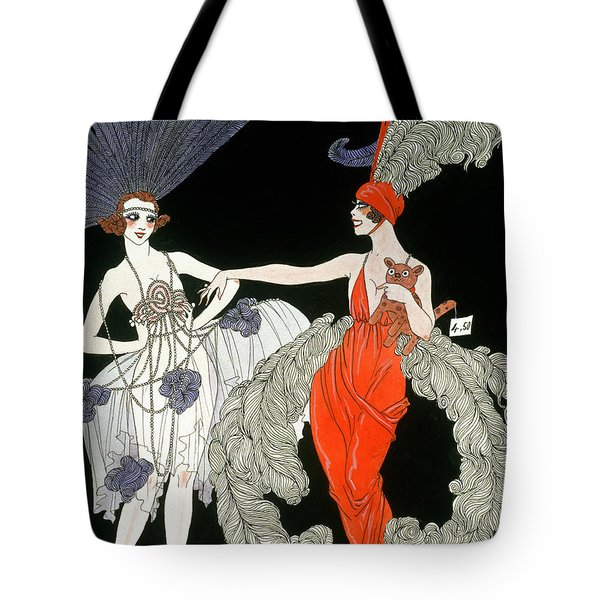 The Purchase  Tote Bag by Georges Barbier
