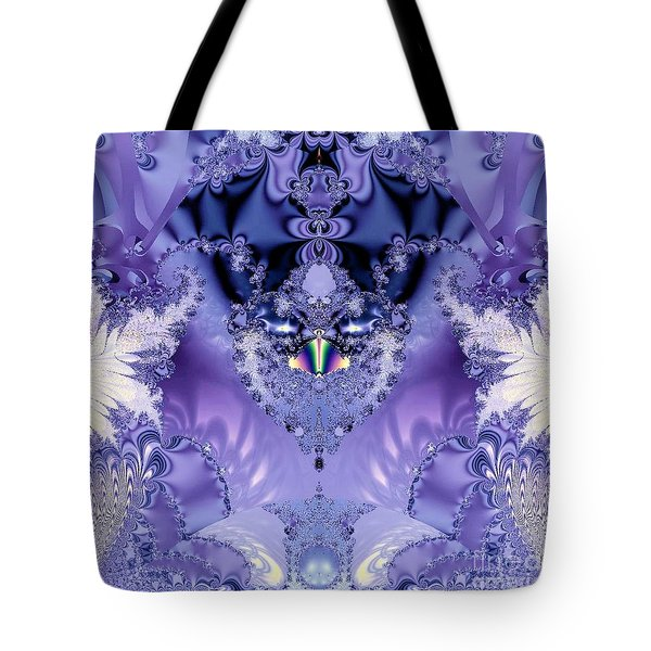 The Purple Heart Tote Bag by Maria Urso