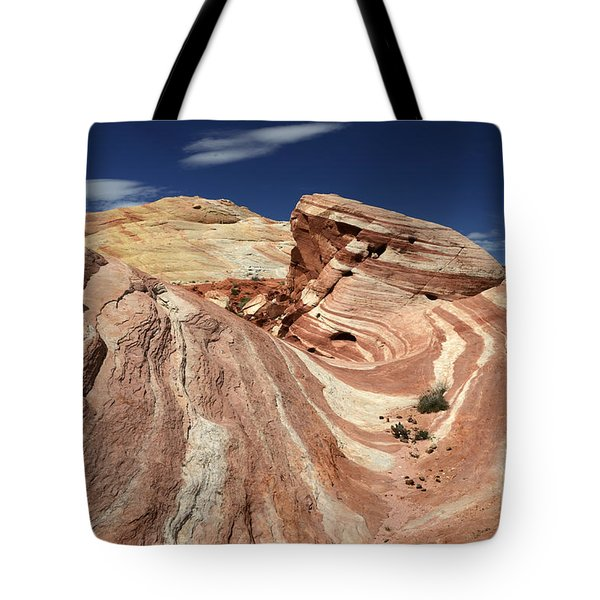 The Purple Wave 2 Tote Bag by Bob Christopher