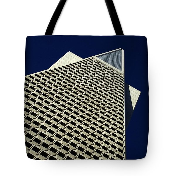 The Pyramid Tote Bag by Bill Gallagher