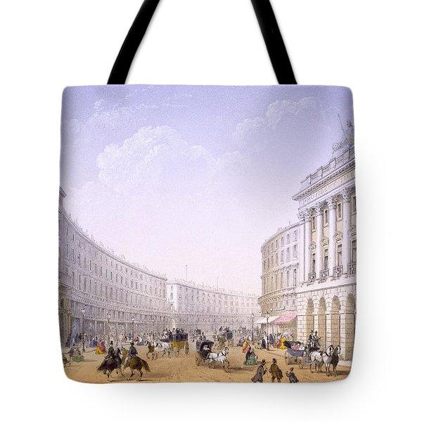 The Quadrant And Regent Street, London Tote Bag