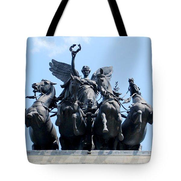 The Quadriga Tote Bag