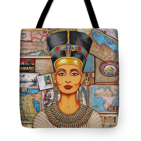 The Queen Of Amarna Tote Bag