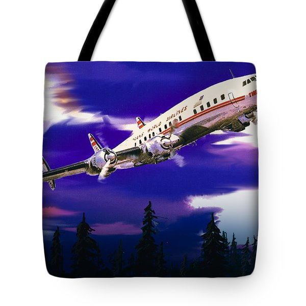 The Queen Of The Fleet Leaving Seattle Tote Bag