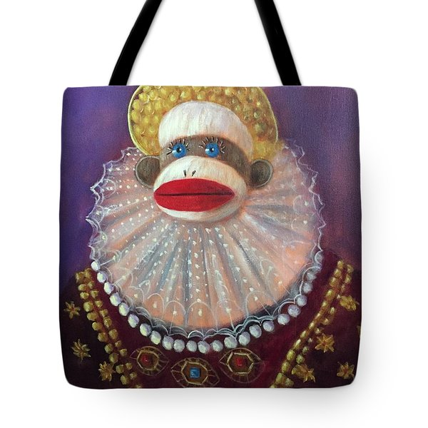 The Proud Queen Tote Bag by Randy Burns