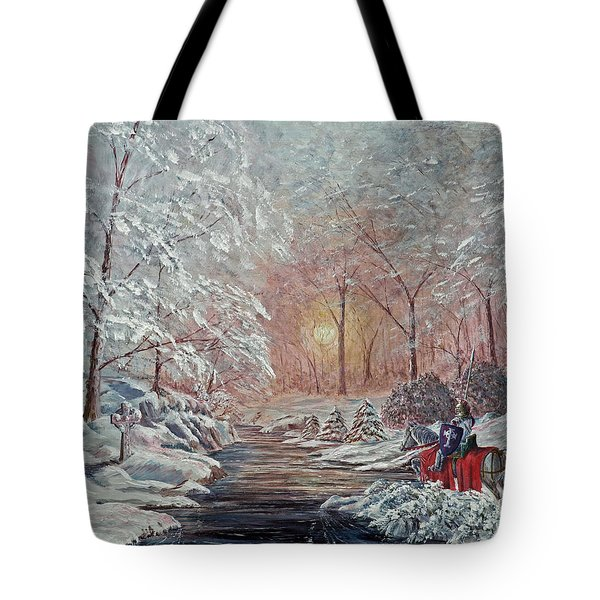 The Quest Begins Tote Bag by Anthony Lyon