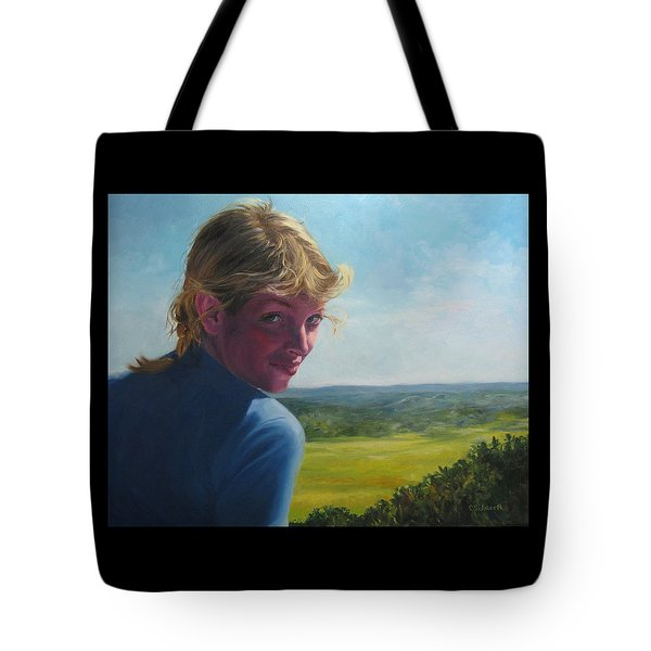 The Question Of A Minor Summit Tote Bag by Connie Schaertl