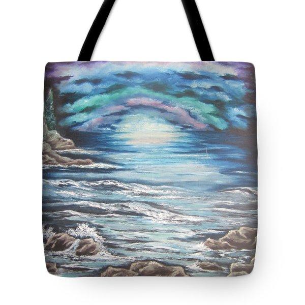 The Quiet Coast Tote Bag by Cheryl Pettigrew