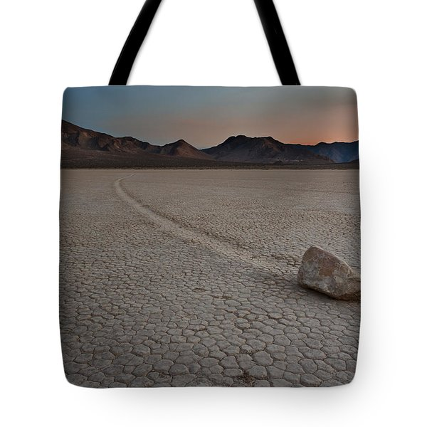 The Racetrack At Death Valley National Park Tote Bag by Eduard Moldoveanu