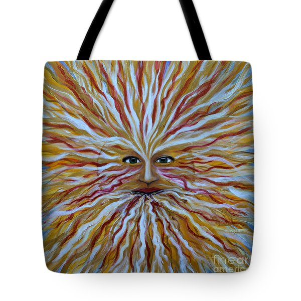 The Radiant Sun Tote Bag