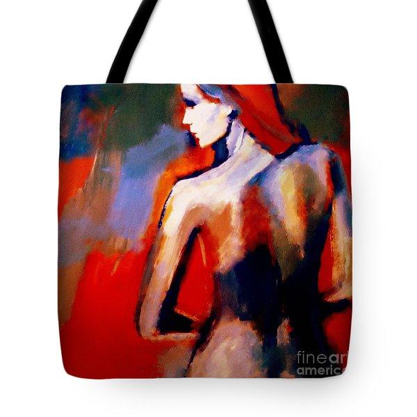 The Radical Lack Tote Bag by Helena Wierzbicki