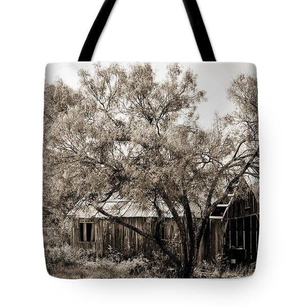 Tote Bag featuring the photograph The Ranch  by Amber Kresge