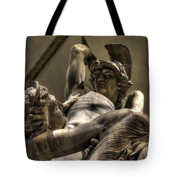 The Rape Of Polyxena Tote Bag