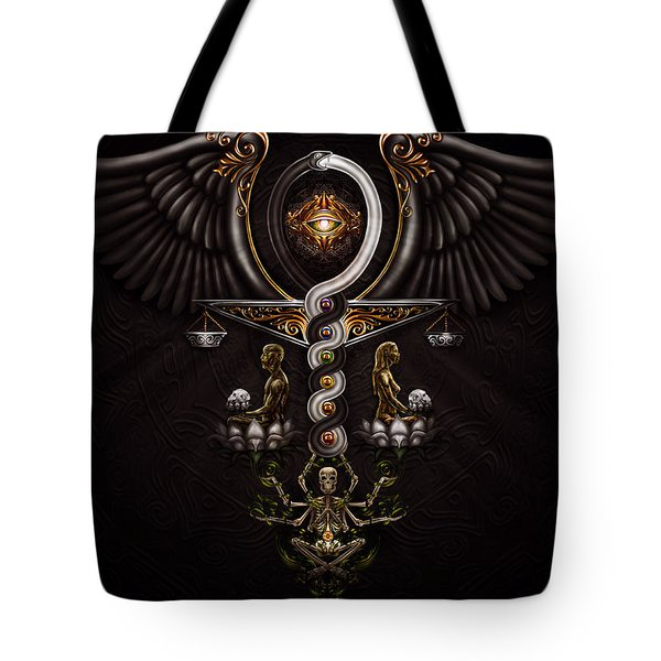 The Rapture Of Incarnation  Tote Bag by Fred Andrews IV
