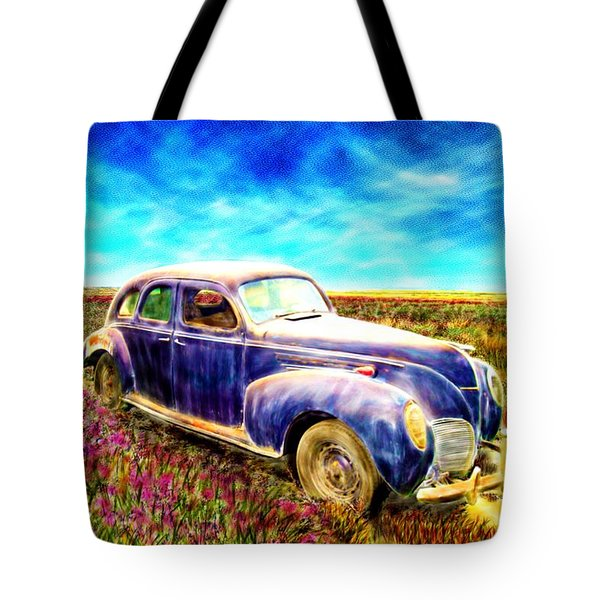 The Rare And Elusive Lincoln Zephyr Tote Bag