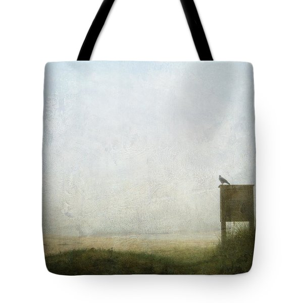 The Raven And The Beach Tote Bag