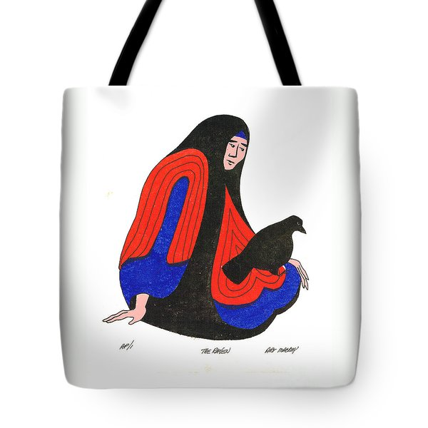 The Raven From Artist Proof 1 Tote Bag