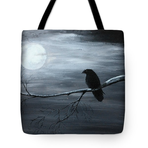 The Raven Piece 2 Of 2 Tote Bag