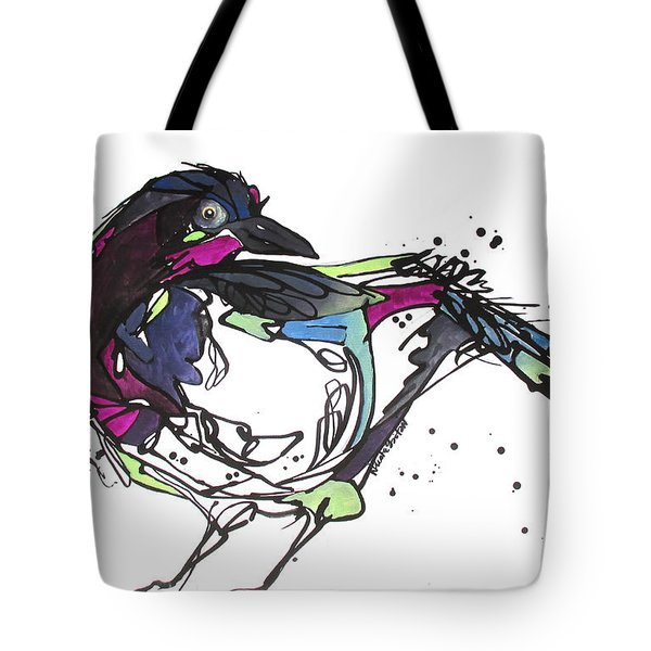 Tote Bag featuring the painting The Ravishing One by Nicole Gaitan