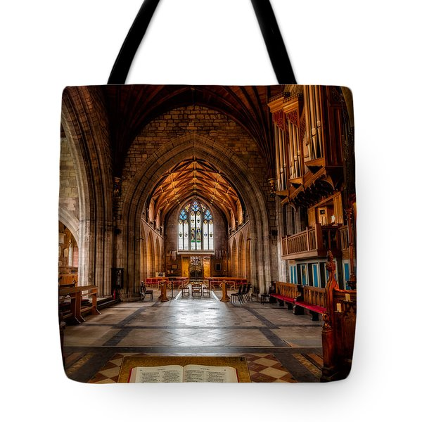 Tote Bag featuring the photograph The Reading Room by Adrian Evans