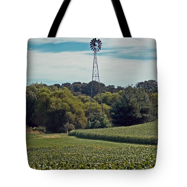 The Real Greening Tote Bag by Skip Willits