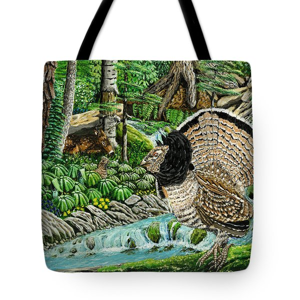 The Real Thunder Bird  Tote Bag