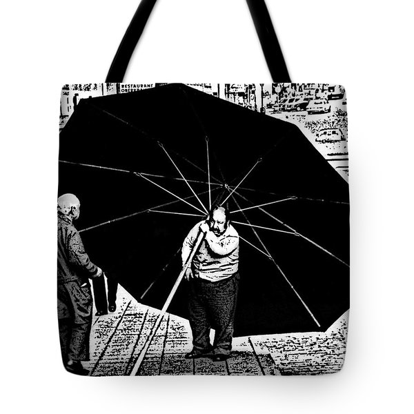 The Really Big Umbrella Tote Bag by Jeff Breiman