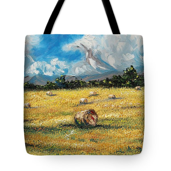 The Reaping Tote Bag by Meaghan Troup