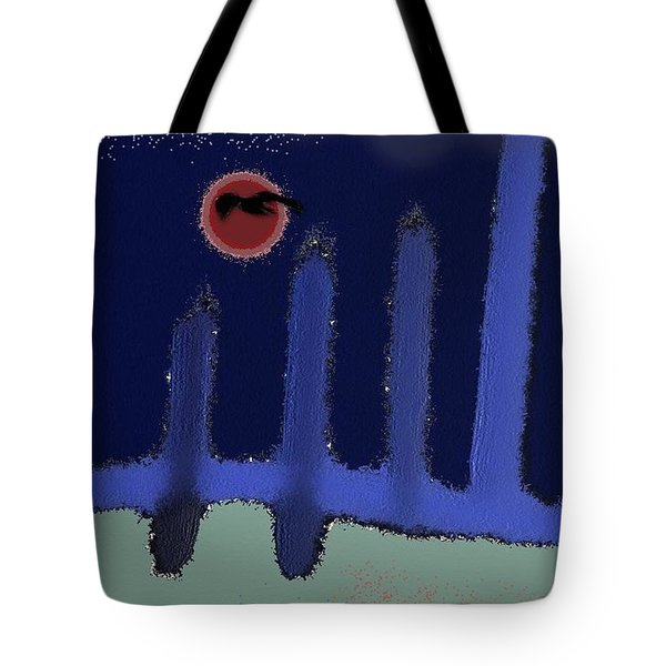 The Reappearance Of Sound Tote Bag by Lenore Senior