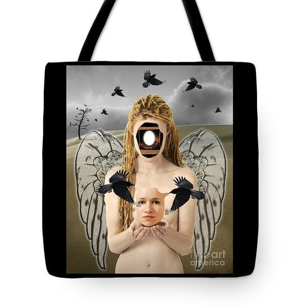 The Rebirth Tote Bag by Keith Dillon