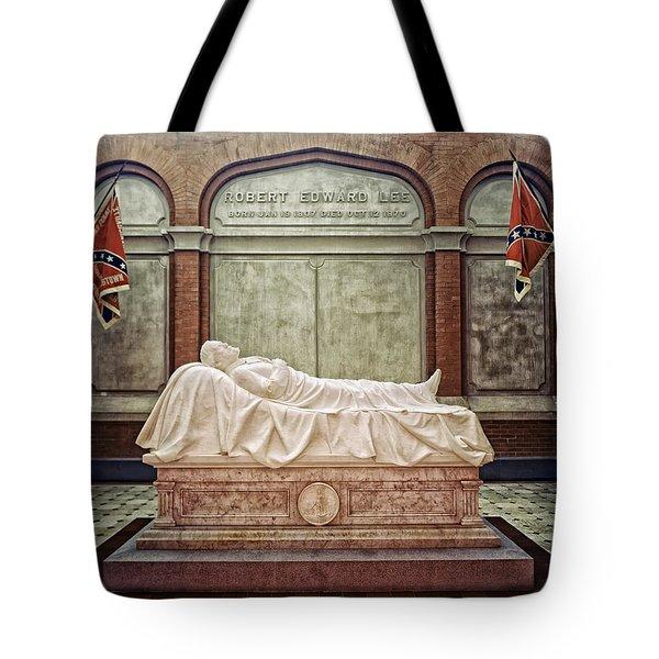 The Recumbent Robert E. Lee Tote Bag